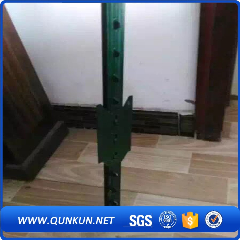 Cheap Green Painted Protect Fence Used High Quality Studded Steel Y & T & L Post Wholesale