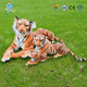 Mini Plush Tiger Cutting Of Soft Toys Plush Large Stuffed Tiger toy