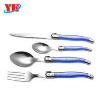 Hot Sell Laguiole Cutlery Set With ABS Handle