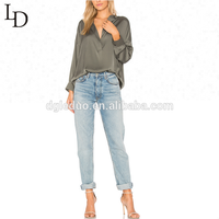 New arrival hot selling women casual design blouse
