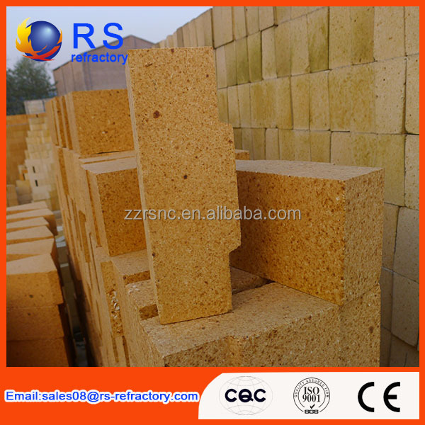 30%-48% Al2O3 lower porosity Refractory fire clay bricks for oven from china supplier