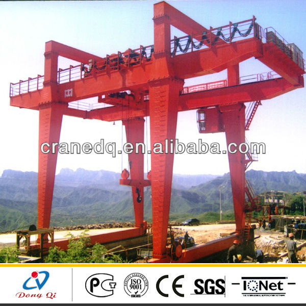 TEU Model Port Container Lifting Rubber Tyre Gantry Crane