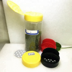 all kinds of plastic bottles for spices Decorative salt and pepper plastic bottle Competitive price PET spice jar