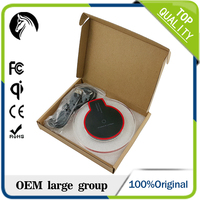 Factory price Hot selling portable wireless mobile phone charger Qi wireless charging