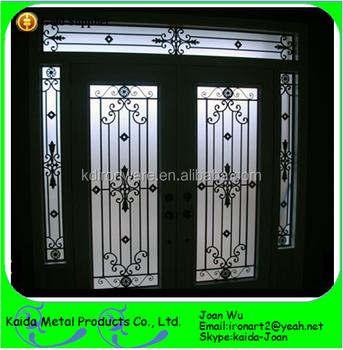 Ornamental Wrought Iron Internal Door Inserts Design Buy Exterior