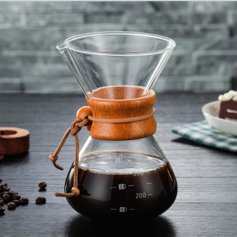 400ml glass <strong>coffee</strong> pour over pot, hand <strong>drip</strong> <strong>coffee</strong> <strong>maker</strong>