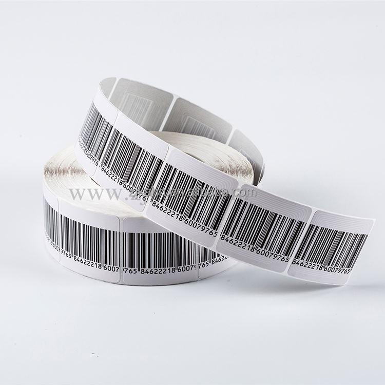 Supermarket anti-theft rf label eas security sensor soft tag for sale