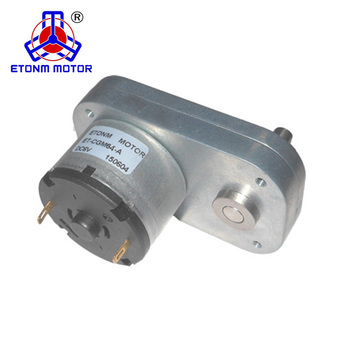 small flat gear motor 24v for robot wheel