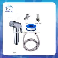 New Triger shattaf toilet bidet sprayer Hand shattaf Set with/1/2t-adpter A301