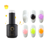 Environmental oem custom private label jewel gel nail polish