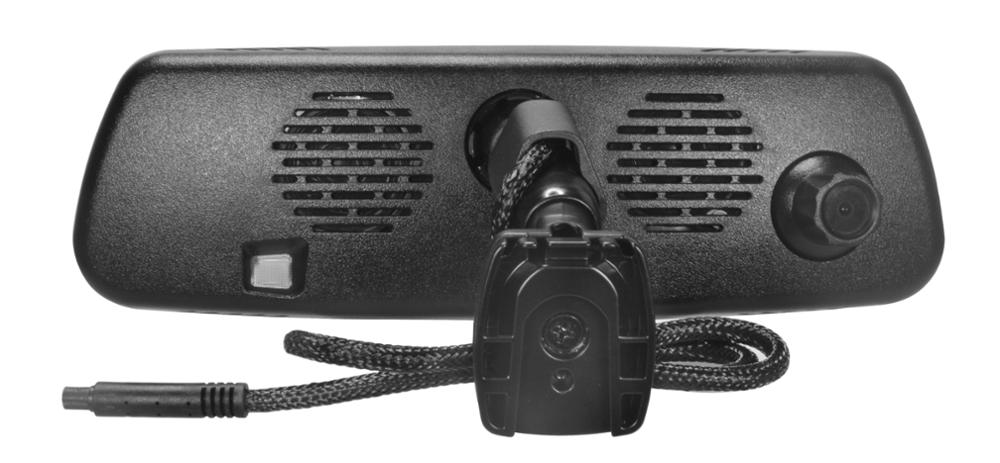 Germid 7.3 inch Ultra High Brigtness Full Screen Rear View Mirror with Mirrorlink&Dash Cam DVR