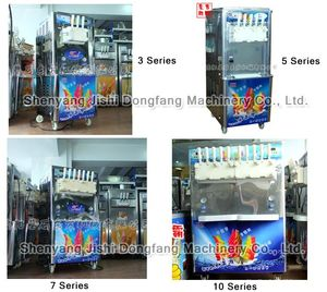 ice cream blending machine tml550-803 five color,ice cream machinery manufacturer