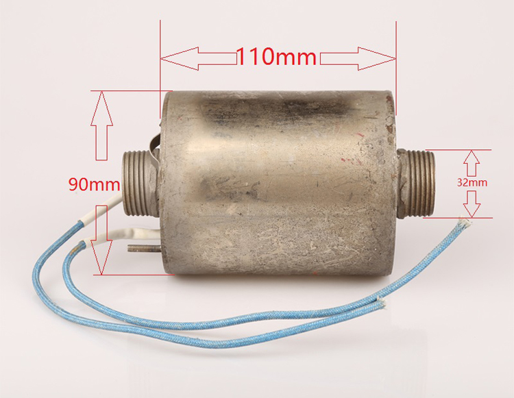 3KW 220V diversion stainless steel immersion heater for solar electric heater,auxiliary heater,pipe electrical heater