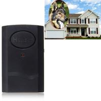 Wireless Home Security Vibration Sensor Car Vehicle Anti-Burglar Door Window Alarm Vibration Electronic Dog Alarm 100pc