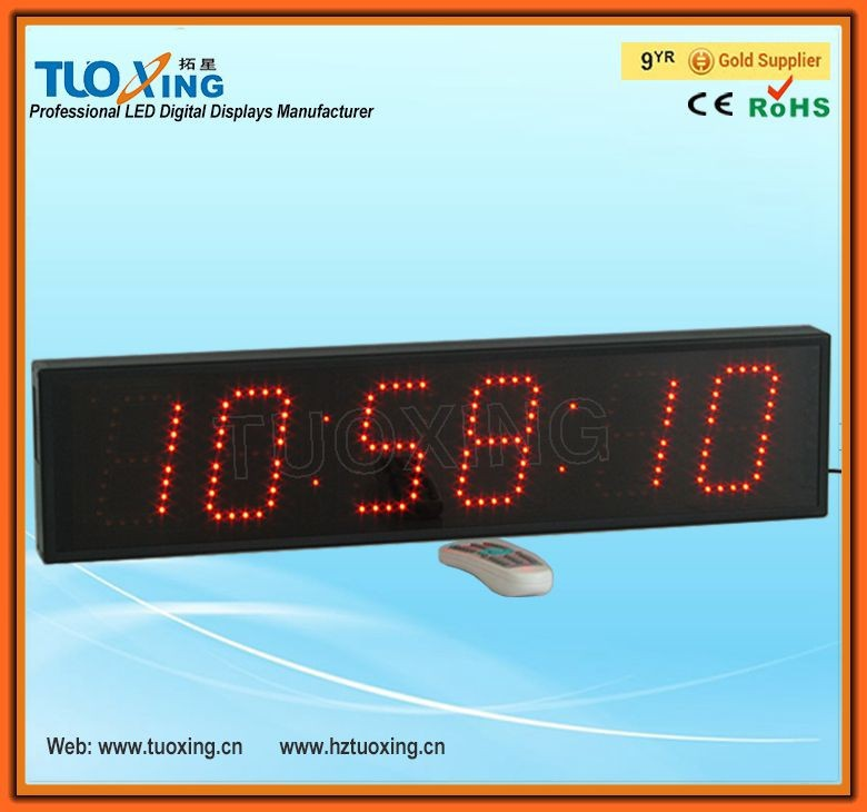 4 inch 6 digits digital shot timer