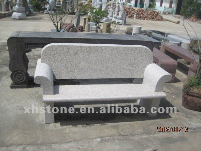 Stone Garden Bench With Back, Stone Garden Bench With Back Suppliers And  Manufacturers At Alibaba.com