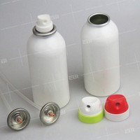 Customized refillable empty aerosol spray cans