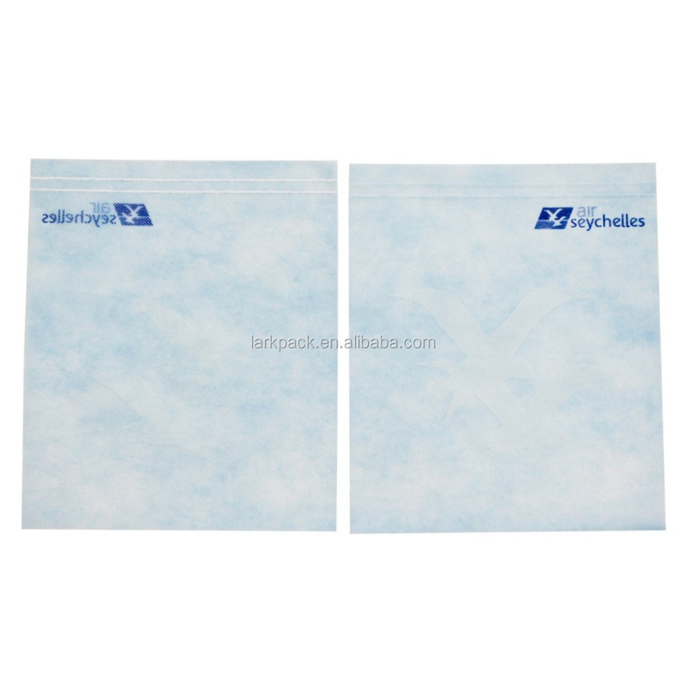 Printed airline non woven headrest cover pillow cover