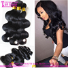 Dyeable colored brazilian hair weave purple body wave easy to dyed, purple brazilian weaving hair