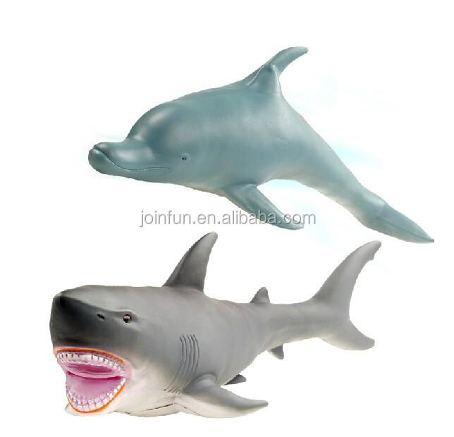 Custom Plastic Shark Toy Oem Plastic Rubber Toy Shark Make
