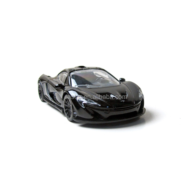 Mclaren alloy toy Rastar small accessories free wheels of car