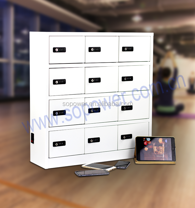High safety lock phone charging kiosk charging system for phone charging cabinet with factory price