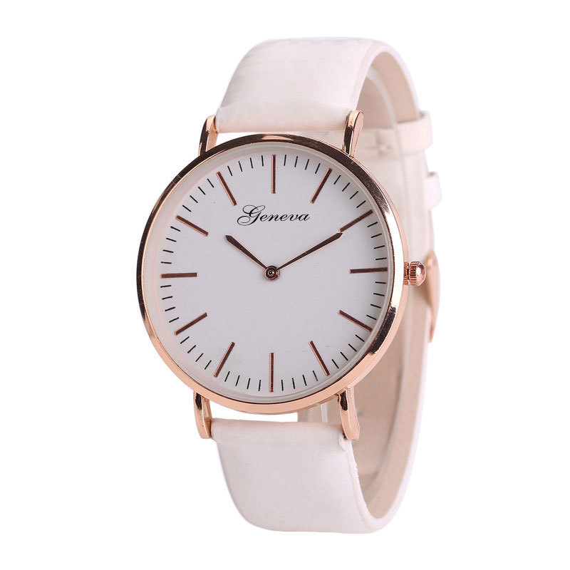 Sunlight UV sensitive geneva watch temperature color changing watch wrist watches men