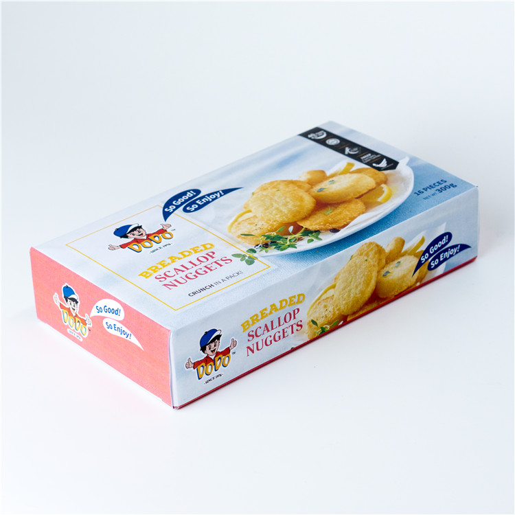 Singapore Food Supplier DODO Breaded Scallop Nuggets