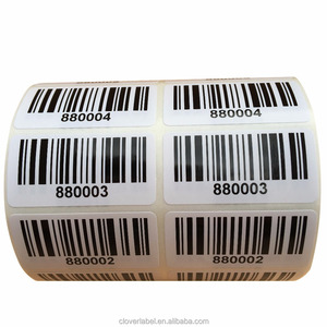 New product Book barcode labels with favorable price