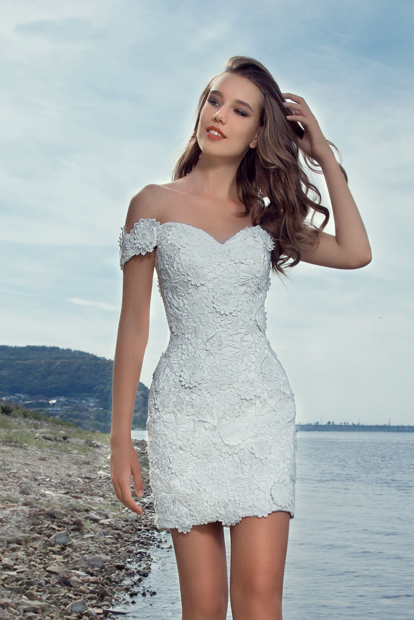 Contemporary Beach Short Wedding Dresses Mold - Wedding Dress Ideas ...