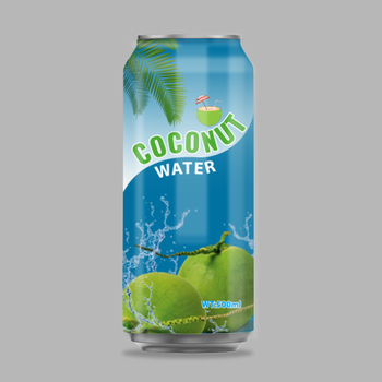 500ml canned coconut water young natural source for export
