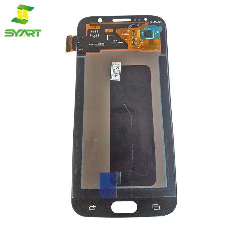 OEM For Samsung S6 Edge Plus LCD Screen Assembly Replacement Part Black White Gold