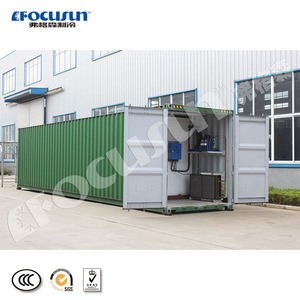 Superior refrigerating effect 40 feet containerized ice storage room used in ice storage