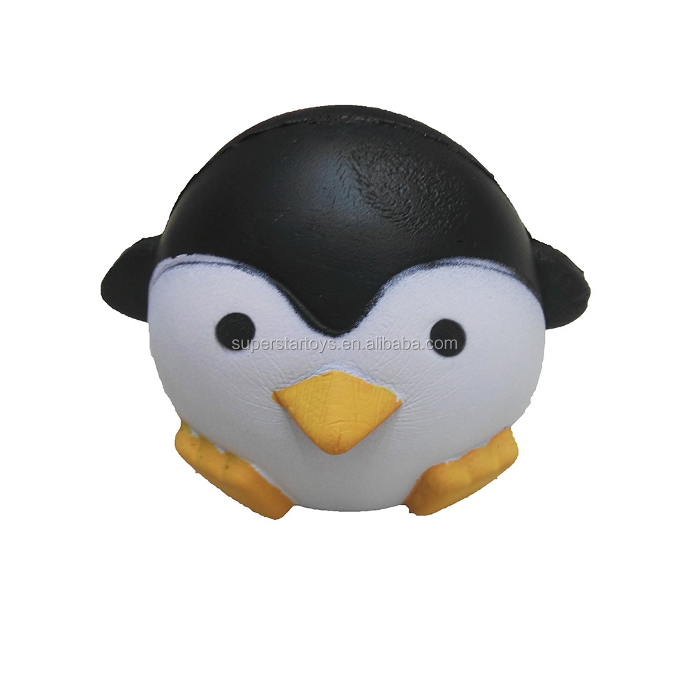 Stuffed & Plush Animals Friendly Hot Selling New Trendy Cute Penguin Squeeze Stretch Soft Slow Rising Restore Fun Toy Gift Fast Shipping Latest Technology