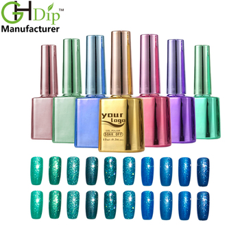Greenstyle Soak-off Good Color Glitter Gel Nail Polish With Private ...