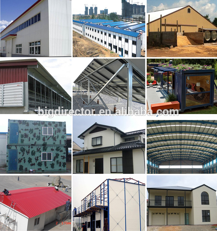 DFX long span light Steel Structure prefabricated aircraft hangar space truss roof building Structure