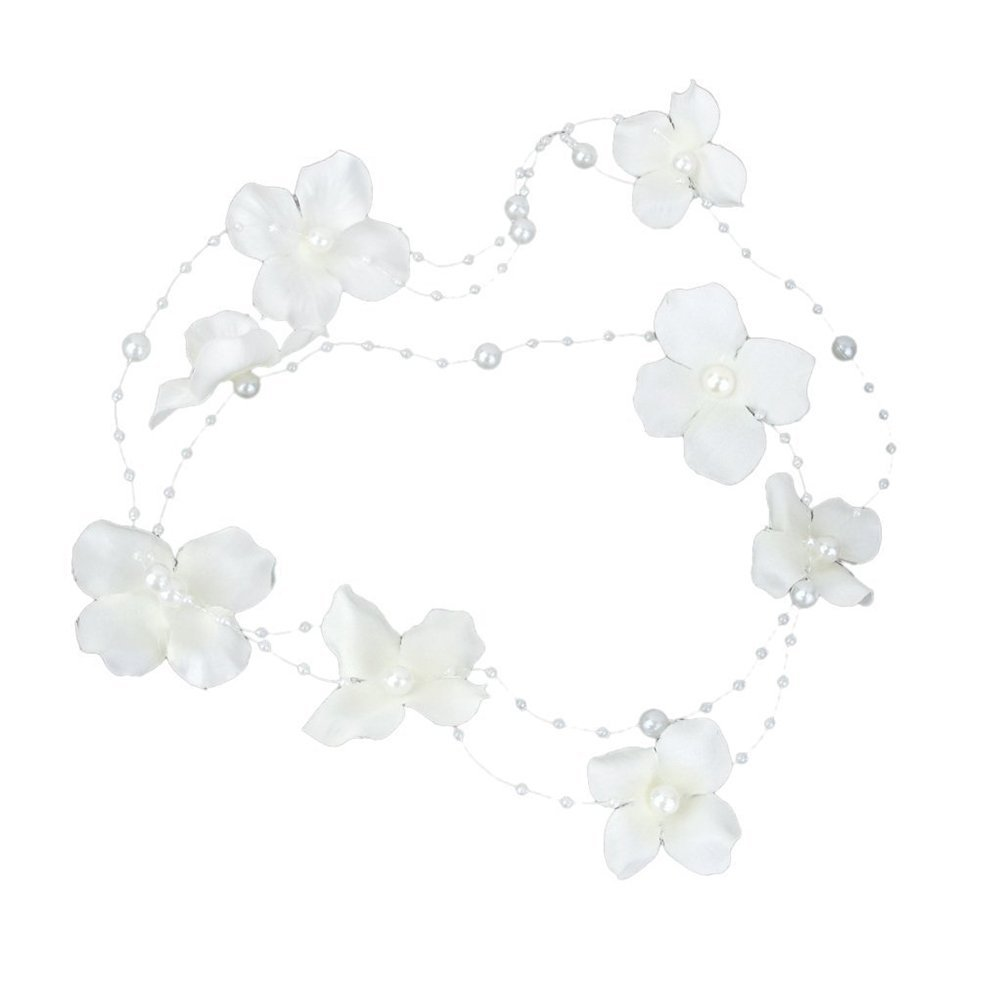 Cheap White Flower For Hair Wedding Find White Flower For Hair