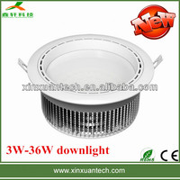 8 Inch dimmable led 36w downlight 3 years warranty