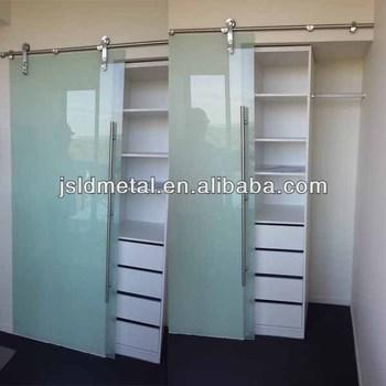 Frosted Tempered Gl Cabinet Sliding Closet Door Wardrobe