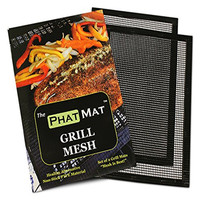 Heat Resistant Non Stick FDA Approved Reusable Easy to Clean BBQ Mesh Grill Mat