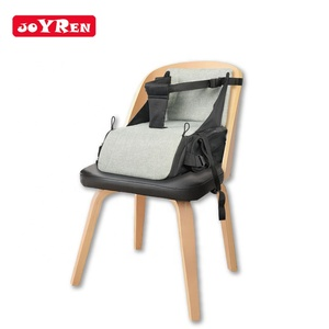 Portable light weight soft safety foldable large capacity baby booster seat