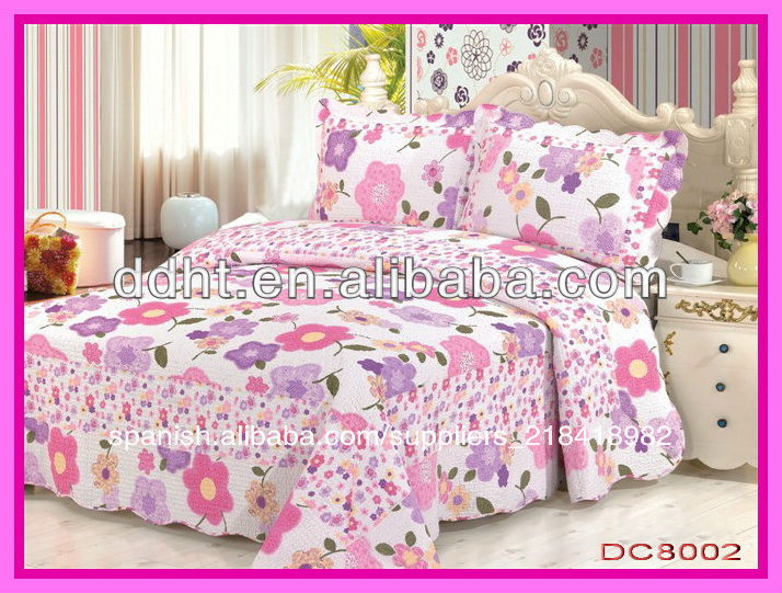 2014 nuevo dise o acolchado colchas hoja de cama de - Edredones diseno ...