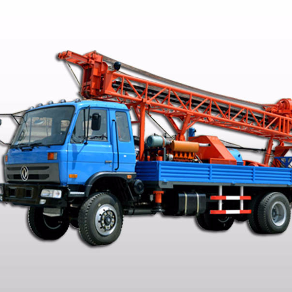 Shandong JINTAN Trailer mounted drilling rig with high quality
