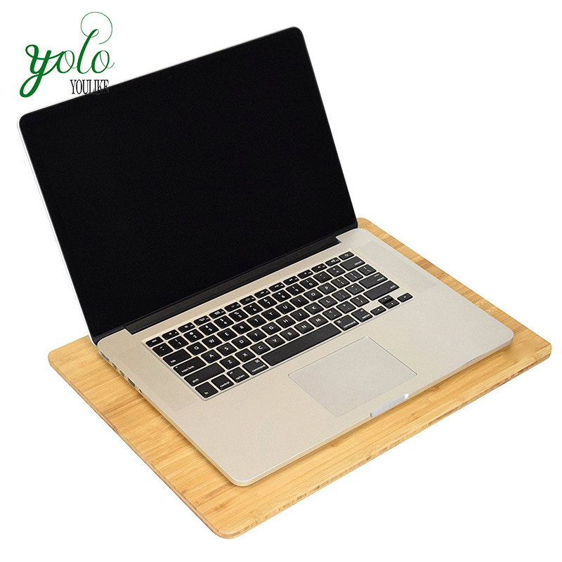 Durable Bed Bamboo Lap Desk for Cooling