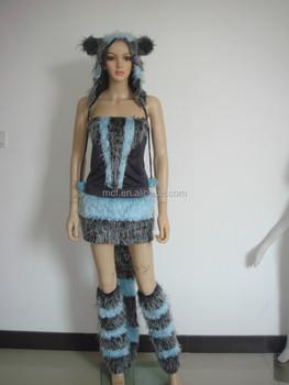 Carnevale Per Adulti Sexy Donne Peluche Lupo Animale Cosplay Costumi Per Le  Feste Wc-0021 - Buy Lupo Costume Di Carnevale 37b6078af312