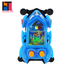 china factory car shape plastic toys handheld water ring game for children
