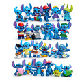 24pcs Mini Stitch figures figurines figura toy set 2016 New Anime stitch Christmas gift and dolls