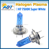 100W Xenon Halogen 7500K Headlight 12V Lamp 64210 H7 Super White Plasma Bulb #Ga27