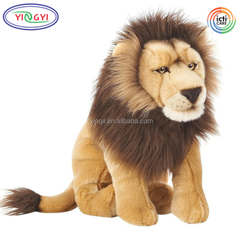 D590 Strong Lions Stuffed Animal Sitting Soft Large Plush Lions Buy