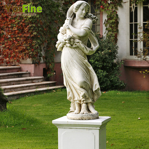 Decorative Garden Best Marble Lady Sculpture